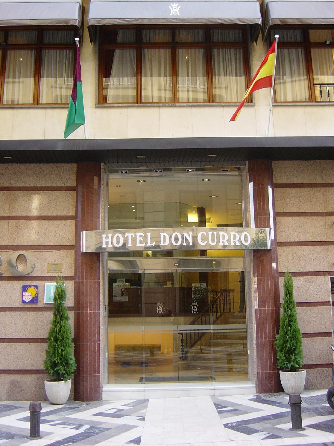 Resultado de imagen de hotel don curro